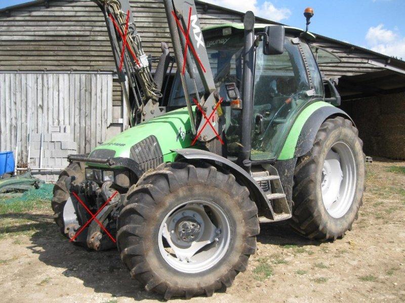 deutz fahr agrotron 100 new tracteur 53120 brece. Black Bedroom Furniture Sets. Home Design Ideas