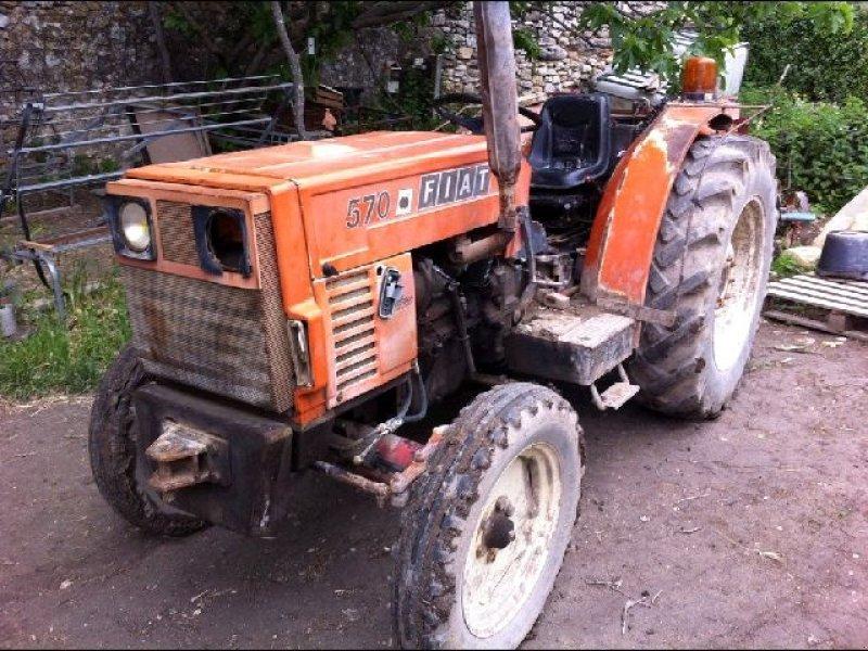 fiat 570 tracteur pour viticulture