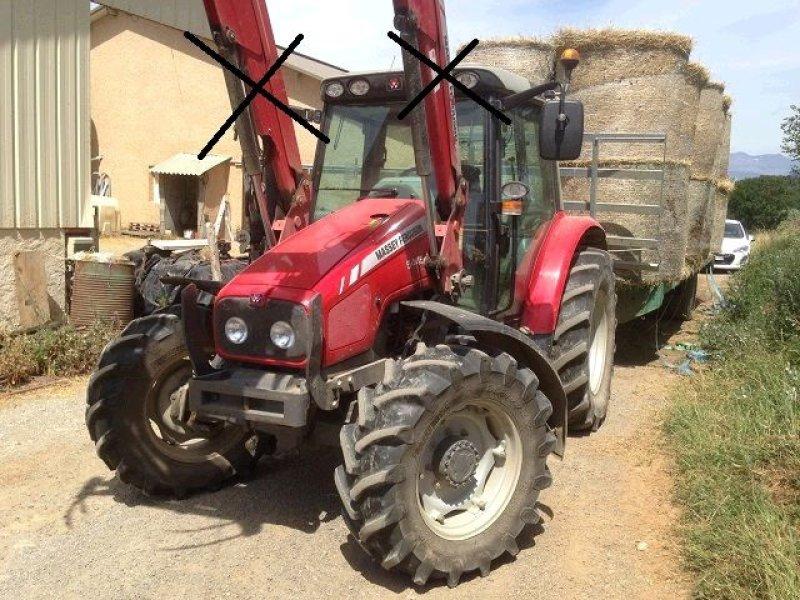 massey ferguson 5445 chargeur tracteur  05000 gap