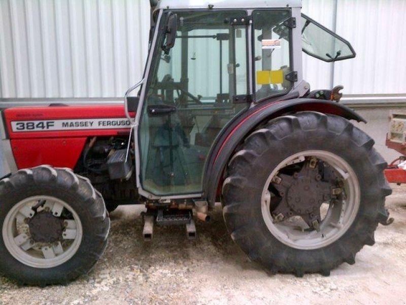 massey ferguson 384  f tracteur pour viticulture
