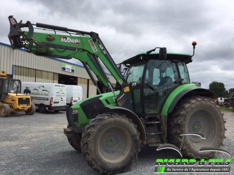 deutz-fahr tracteur agricole 5110p deutz-fahr tracteur  23300 la souterraine