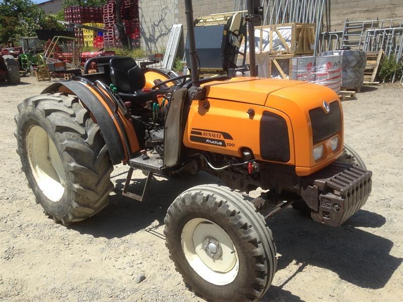 renault fructus 120 tracteur pour viticulture