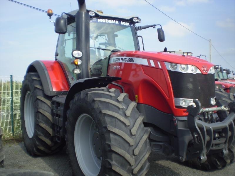 massey ferguson 8670 tracteur  49122 b u00e9grolles en mauges