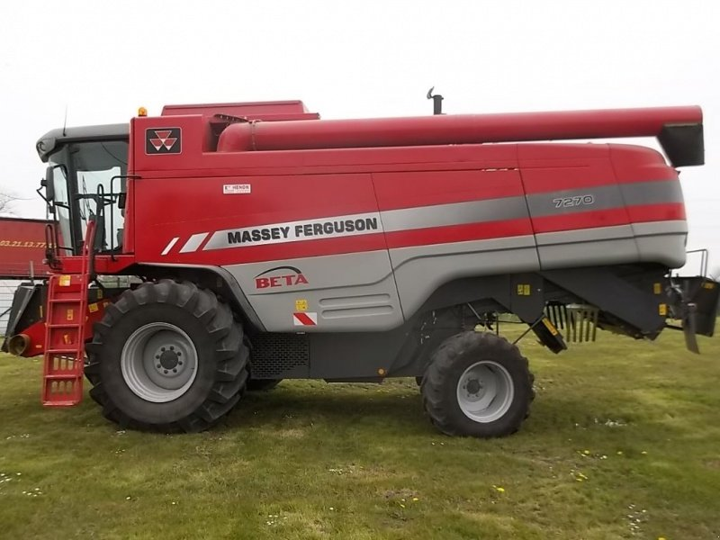 massey ferguson 7270 beta moissonneuse