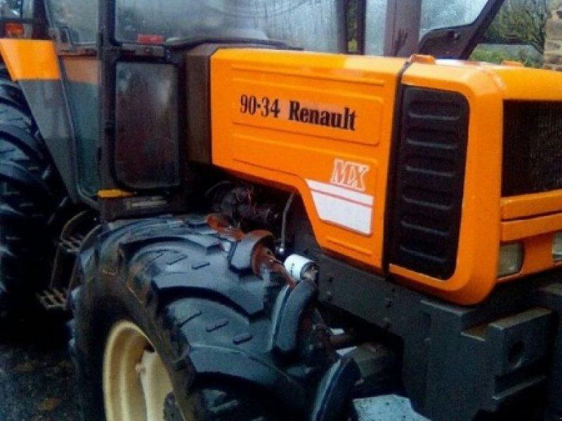 renault 90 34 rx tracteur 12000 rodez. Black Bedroom Furniture Sets. Home Design Ideas