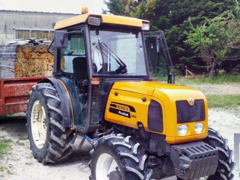 renault fructus 130 tracteur pour viticulture