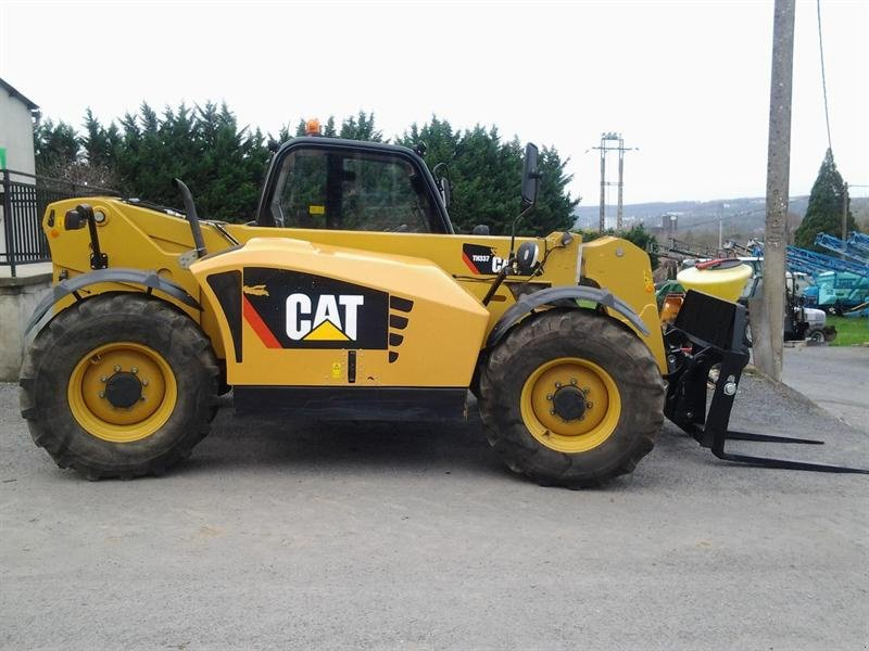caterpillar th 337 chargeur t u00e9lescopique  02400 blesmes