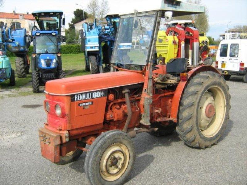 renault 60 tracteur pour viticulture