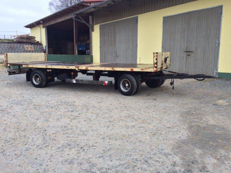 fliegl zbs 135 plattformanh nger ballensammelwagen. Black Bedroom Furniture Sets. Home Design Ideas