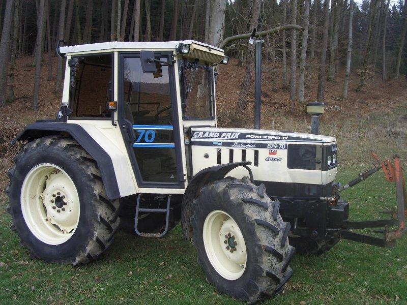 lamborghini 674 70 grand prix traktor. Black Bedroom Furniture Sets. Home Design Ideas