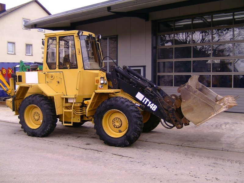 Caterpillar cat it14b wheel loader technikboerse com