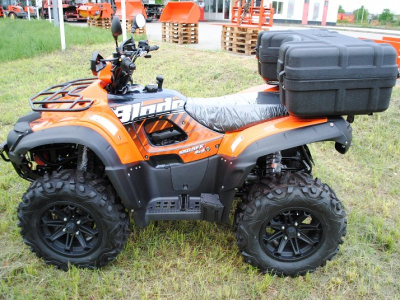 tgb tgb blade 550 efi irs lof quad atv schlepper. Black Bedroom Furniture Sets. Home Design Ideas