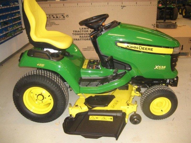 john deere x534 tracteur tondeuse. Black Bedroom Furniture Sets. Home Design Ideas