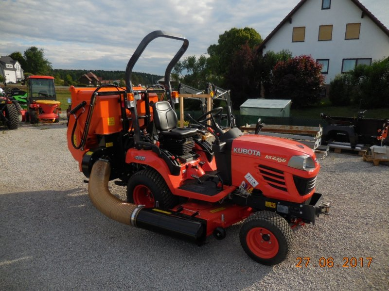 kubota bx how to drive