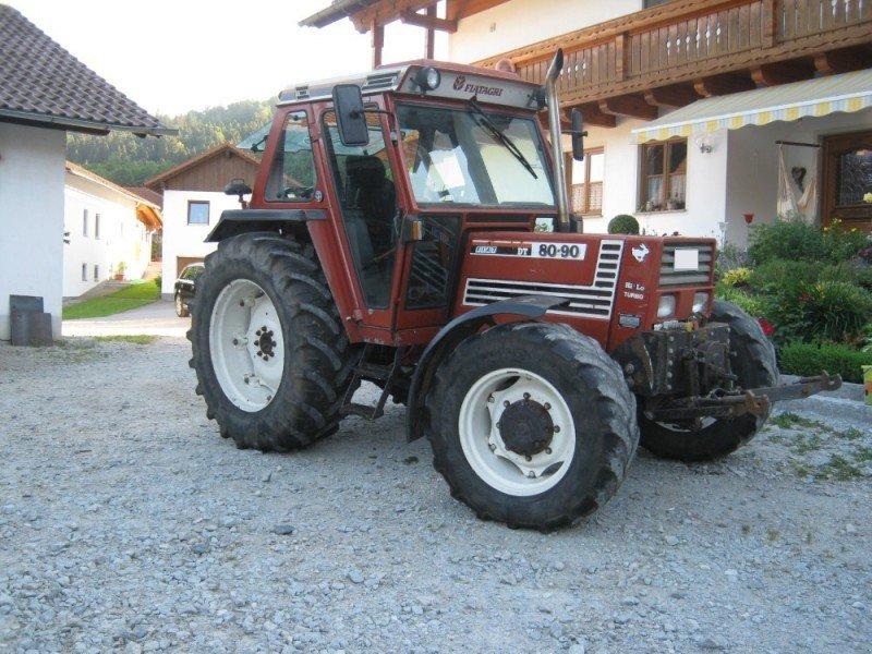 fiat 80-90 dt hilo tracteur