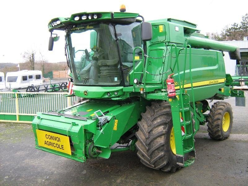 john deere t560 moissonneuse-batteuse