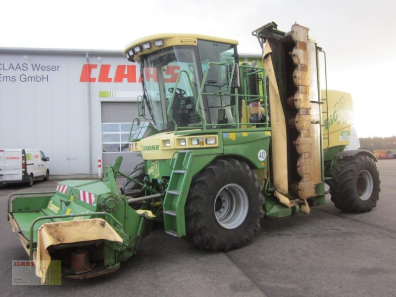 Krone Big M 400 Allrad 40 Kmh Mowing Device Technikboersecom