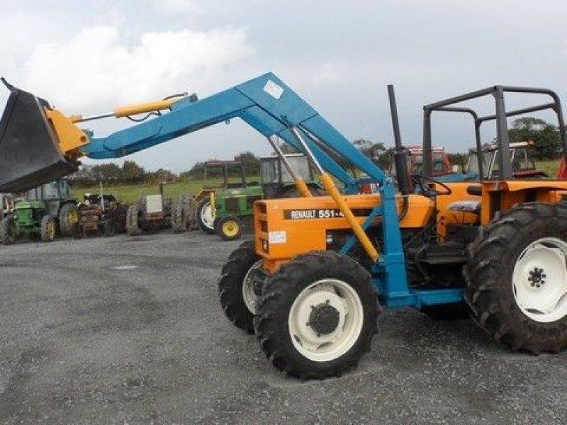 renault 551-4 s tracteur