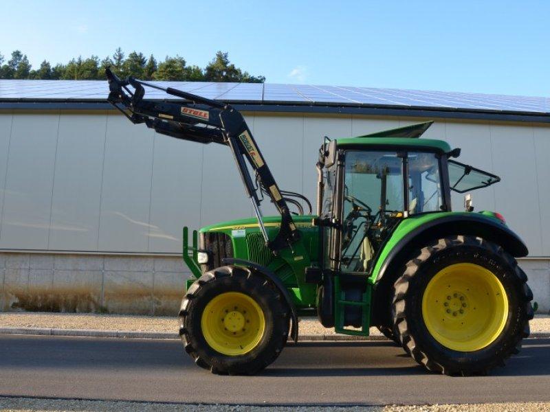 john deere 6220 se mit stoll frontlader traktor. Black Bedroom Furniture Sets. Home Design Ideas