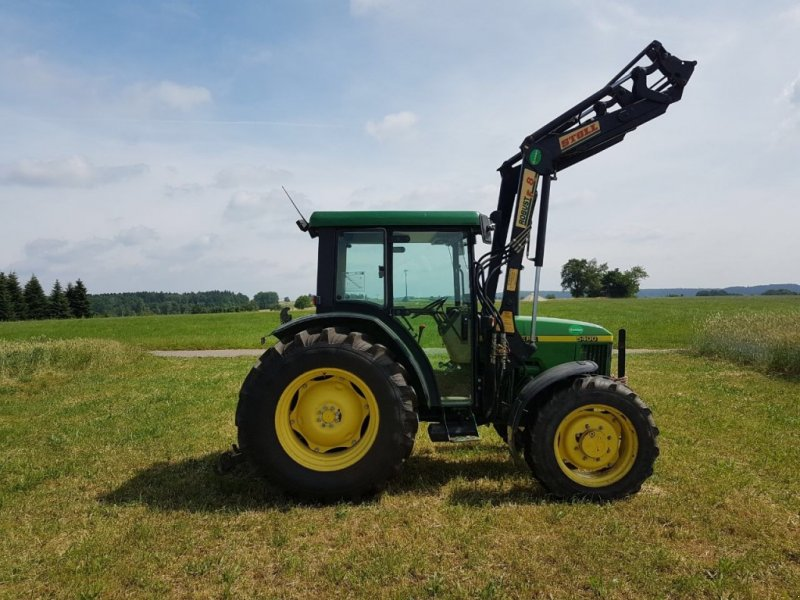 john deere 5400 mit frontlader stoll f8 traktor. Black Bedroom Furniture Sets. Home Design Ideas