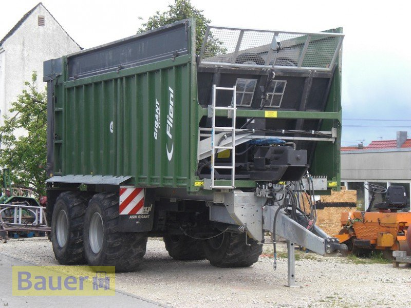 fliegl asw 268 abschiebewagen. Black Bedroom Furniture Sets. Home Design Ideas