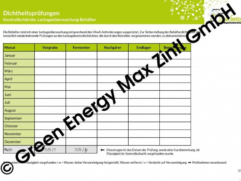 green energy biogas biogastagebuch sonstige biogastechnik. Black Bedroom Furniture Sets. Home Design Ideas