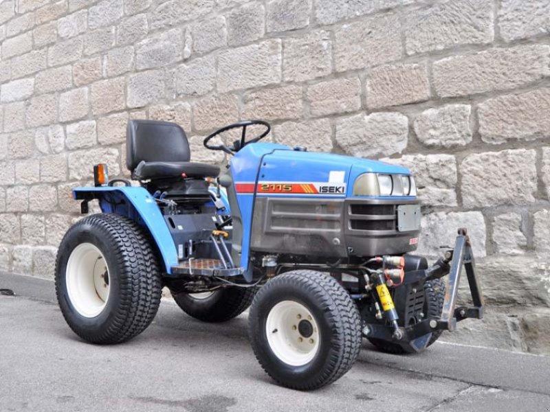 iseki 2115 schmalspurtraktor kleintraktor traktor allrad. Black Bedroom Furniture Sets. Home Design Ideas