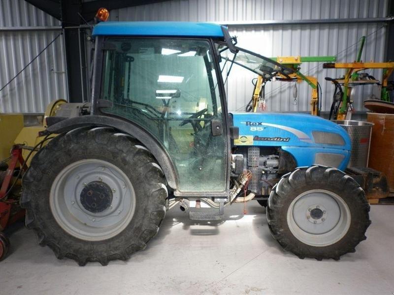 landini rex 85 f tracteur pour viticulture
