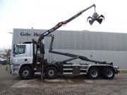 DAF CF 85.380 8x2 Hyvalift26 Tons Hooklift HMF 1144K1TS Crane Abrollcontainer