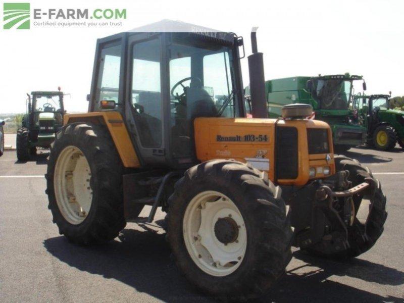 renault 103 54 tx tracteur 48230 chanac. Black Bedroom Furniture Sets. Home Design Ideas