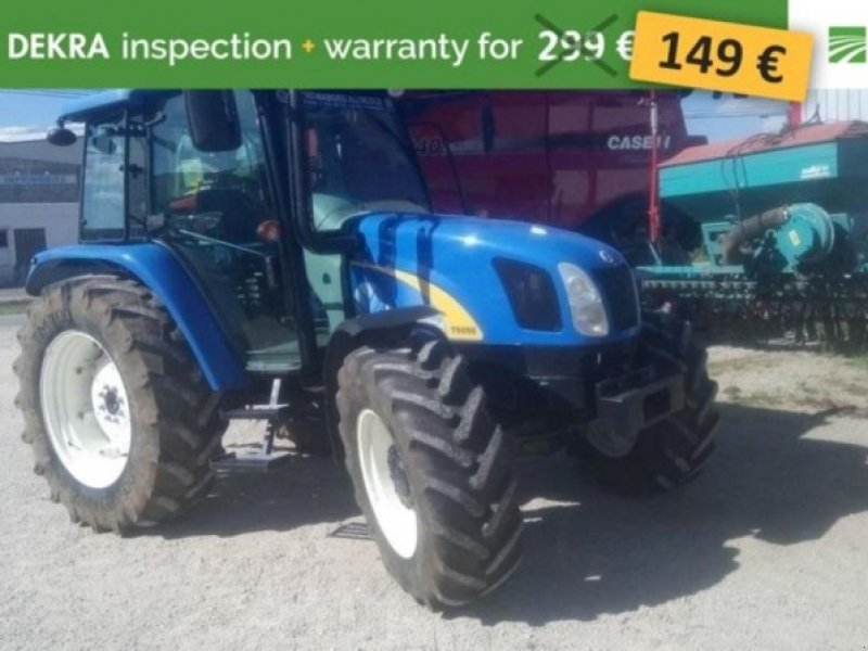 New Holland T5050 Tractor, 52000 Chaumont