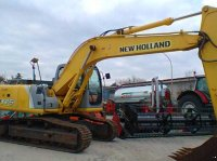 New Holland 175 EXCAVATORE ESCAVATORE Traktor