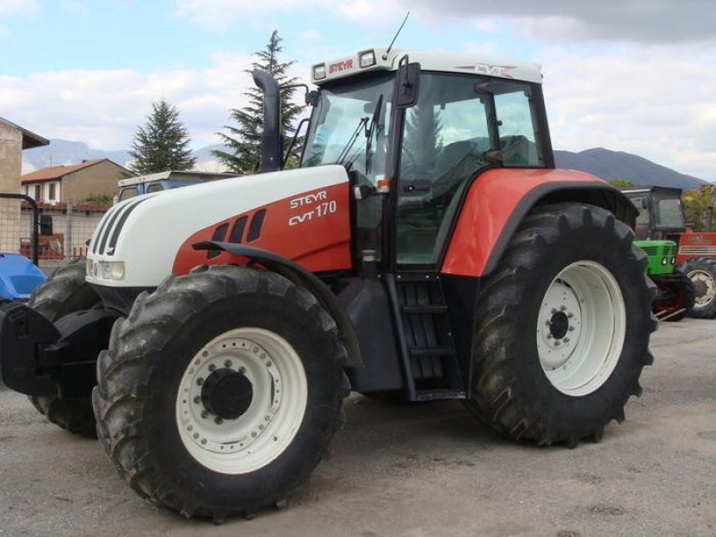 Steyr cvt traktor avezzano technikboerse