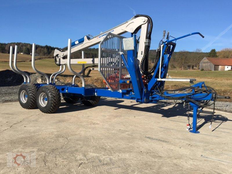 Scandic ST-10S 13t 7,9m 550kg Chariot forestier & Remorque ...