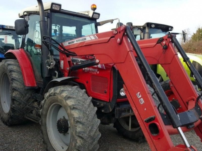 massey ferguson 6455 tracteur  69550 st jean la bussiere