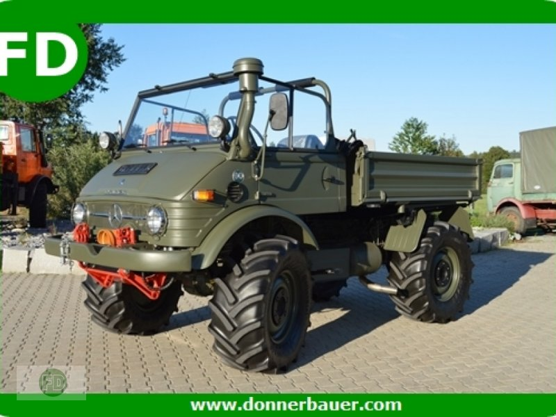 mercedes benz unimog 406 cabrio restauriert ex military. Black Bedroom Furniture Sets. Home Design Ideas