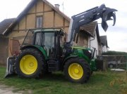 John Deere 6125 with front loader, winch and forestry extension Grünlandtraktor