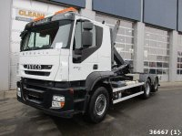 Iveco Stralis AT260S36 6x2 Euro 5 Abrollcontainer