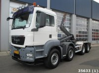 MAN TGS 41.360 8X4 BB Abrollcontainer