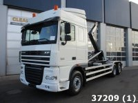 DAF FAN 105 XF 510 6x2 Euro 5 Intarder Abrollcontainer