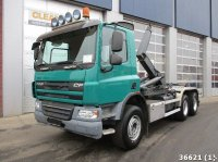 DAF FAT 75 CF 310 Euro 5 6x4 Manual Full steel Abrollcontainer
