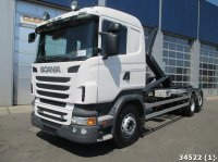 Scania R 500 V8 Euro 5 6x2 Abrollcontainer