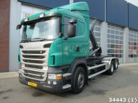 Scania R 500 6X2 V8 Euro 5 Manual Abrollcontainer