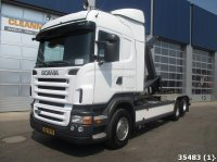 Scania R480 6x2 Retarder Abrollcontainer