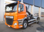 DAF FAT CF 410 6x4 Euro 6 Afrolcontainer