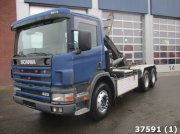 Scania P 124.420 Manual Euro 2 Afrolcontainer