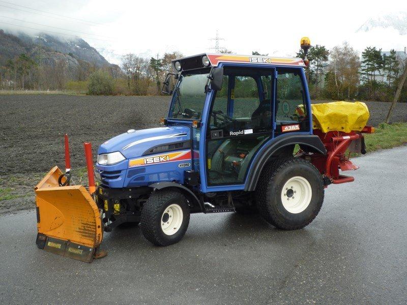 iseki th 4365 hydro kommunaltraktor traktor 7006 chur. Black Bedroom Furniture Sets. Home Design Ideas