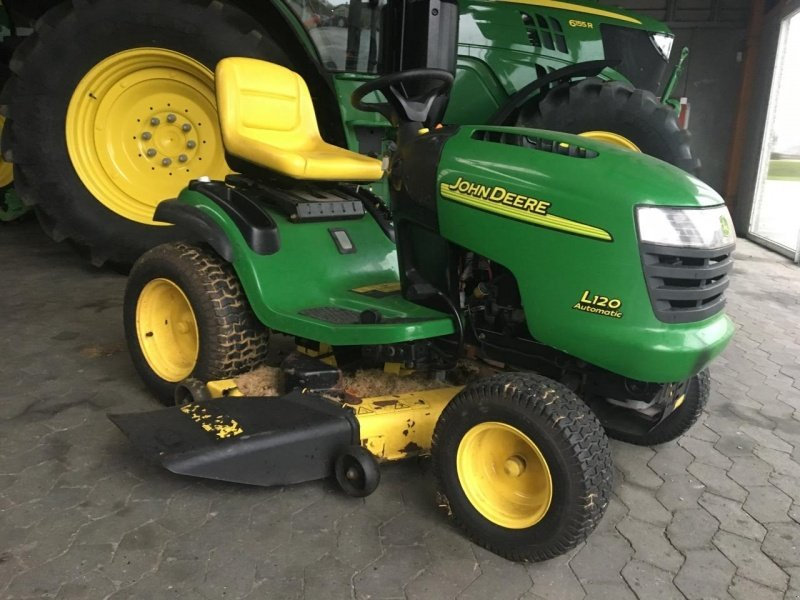 John deere l120 tracteur tondeuse 8800 viborg - Tracteur tondeuse john deere occasion ...