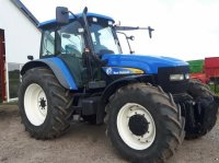 New Holland TM 155 SS med frontlift Traktor