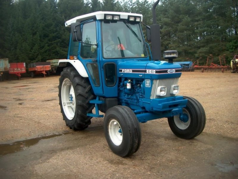 Ford 6610 dual power - bremseventil Tractor, 7441 Bording - technikboerse.com